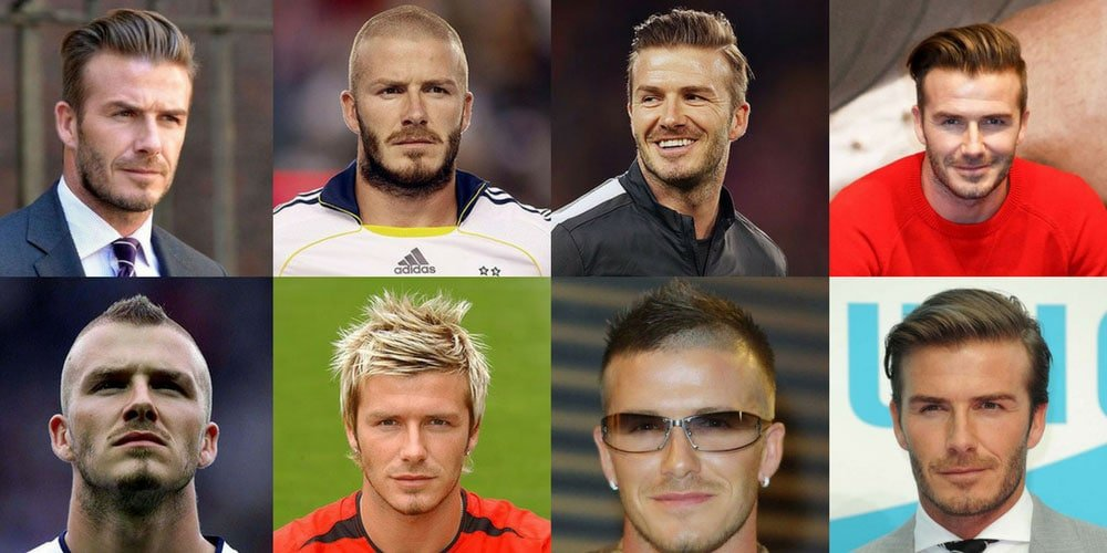 Best David Beckham Hairstyles