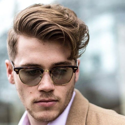 Business Hairstyles For Men - Short Sides with Comb Over