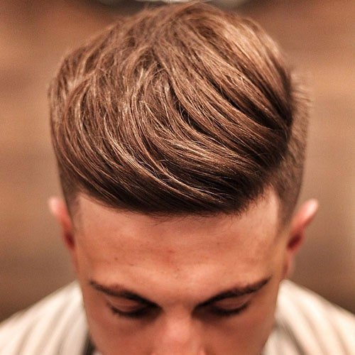 Classic Quiff with Undercut
