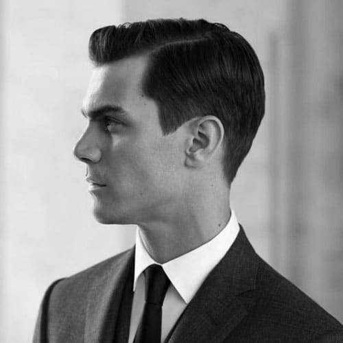 Classic Side Part - Short Sides with Part