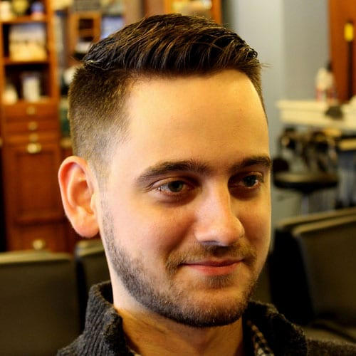 Classic Taper - Crew Cut with Beard