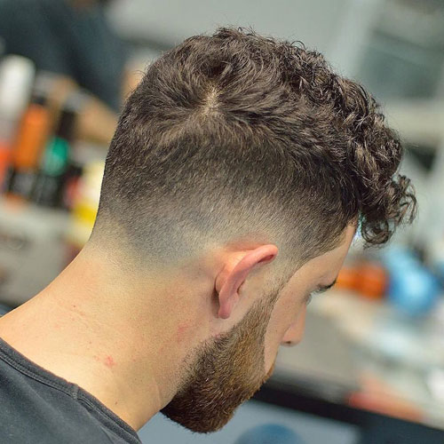 Cool Drop Fade Haircut