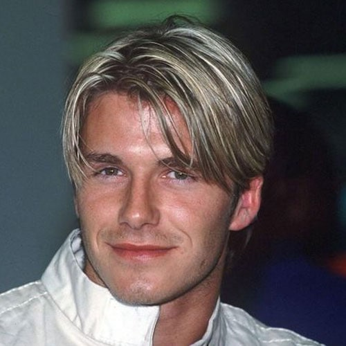 David Beckham Hair - Bangs