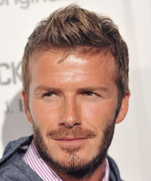 David Beckham Haircut Styles - Faux Hawk