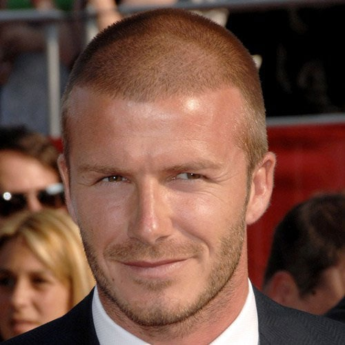 David Beckham Haircuts - The Buzz Cut