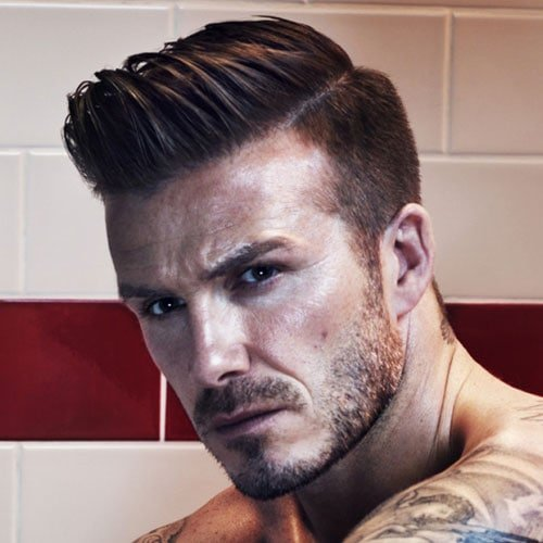 David Beckham Quiff Hairstyle