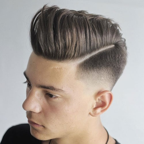 Different Skin Fade Hairstyles