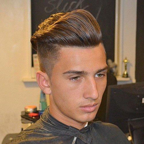 Undercut with Thick Pomp
