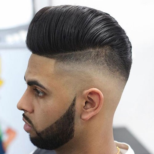 Disconnected Pompadour Hairstyle
