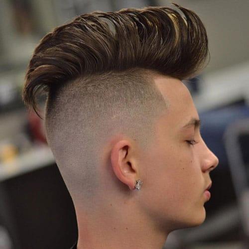 Skin Fade Haircut Bald Fade Haircut 2019 Men S