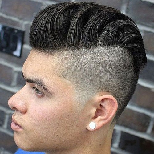 Disconnected Undercut with Modern Pompadour