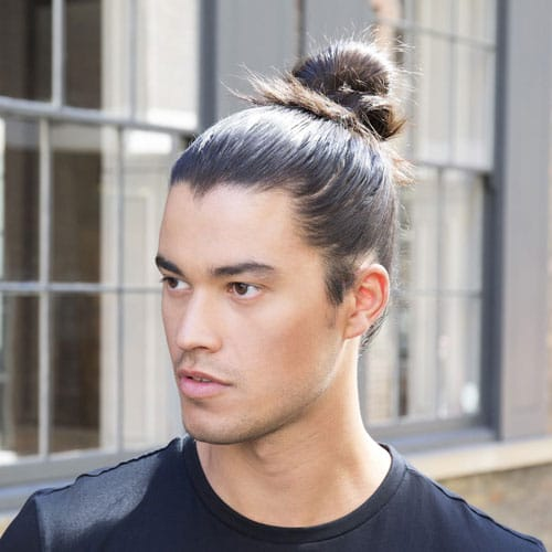 Guys with Man Buns