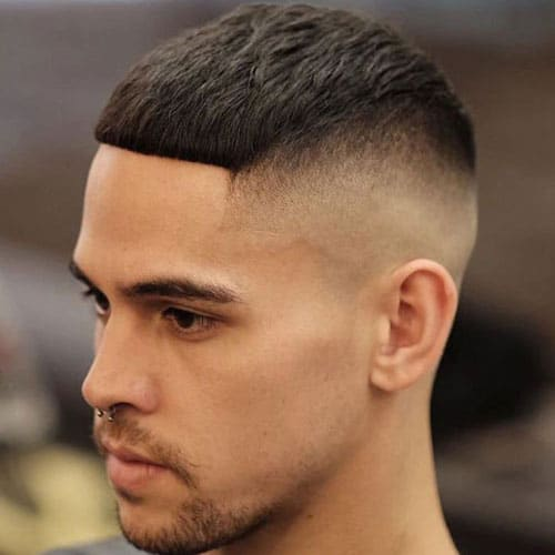 High And Tight Cut   High Skin Fade With French Crop