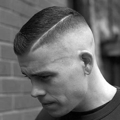 High and Tight - High Skin Fade with Short Side Part