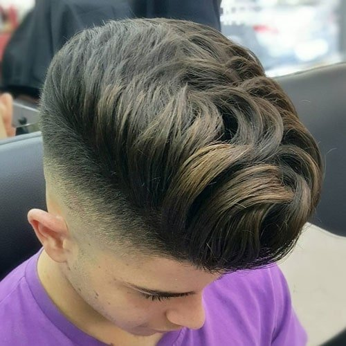 How To Style A Quiff - High Fade with Quiff Hairstyle