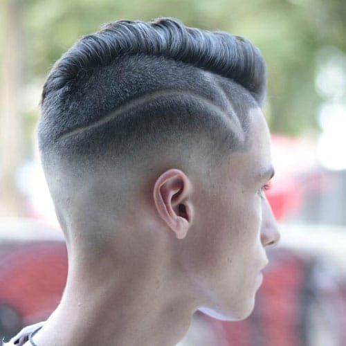 How To Style An Undercut - The Undercut Hairstyle with Comb Over