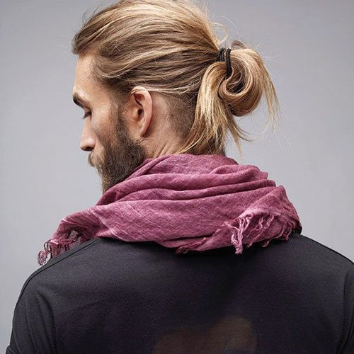 How To Tie A Man Bun