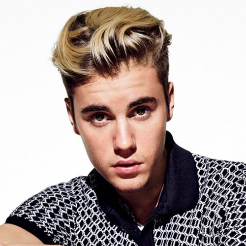 Justin Bieber Hairstyles   The Long Quiff