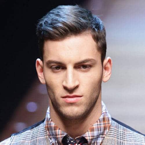 Long Ivy League Haircut