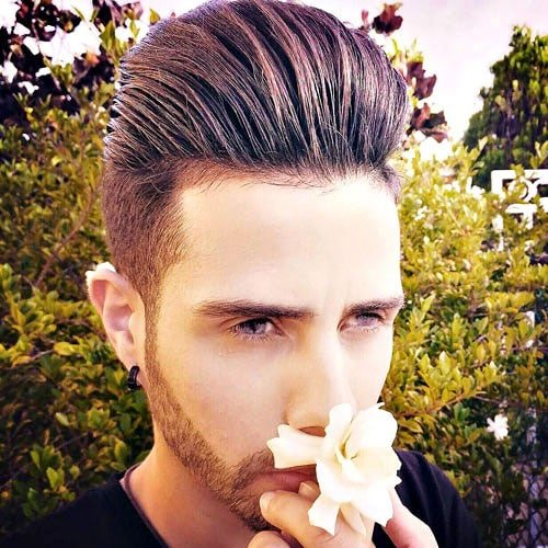 The Pompadour Hairstyle For Men | Men's Haircuts + Hairstyles 2017