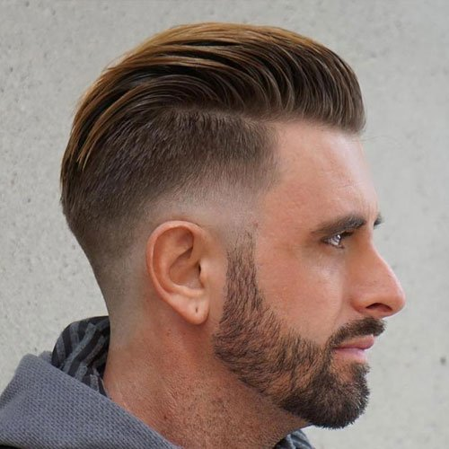 Drop Fade Haircut Men Haircuts Hairstyles