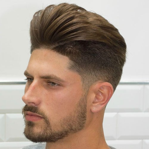 Pompadour Hairstyle For Men 2018 Men S Haircuts