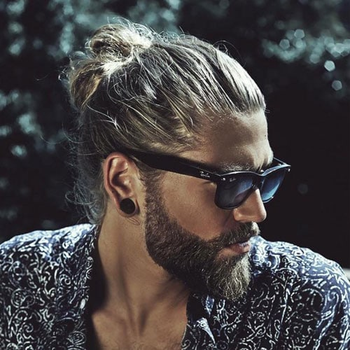 Man Bun Haircut - What Is A Man Bun