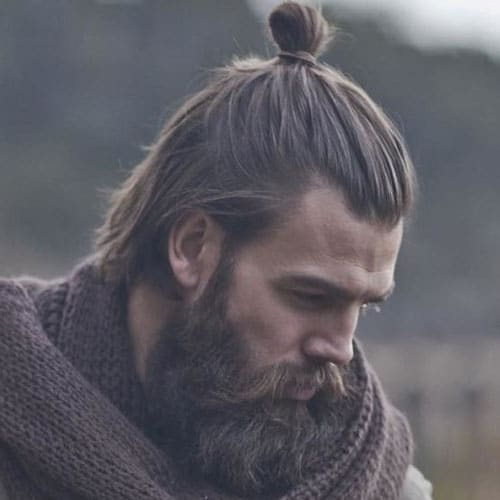Man Bun Samurai Hairstyle - How To Style A Man Bun