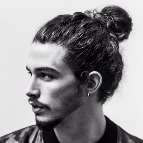 25 Best Man Bun Hairstyles 2019 Guide