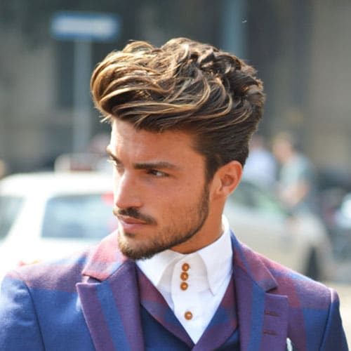 Men's Business Hairstyles - Quiff with Beard
