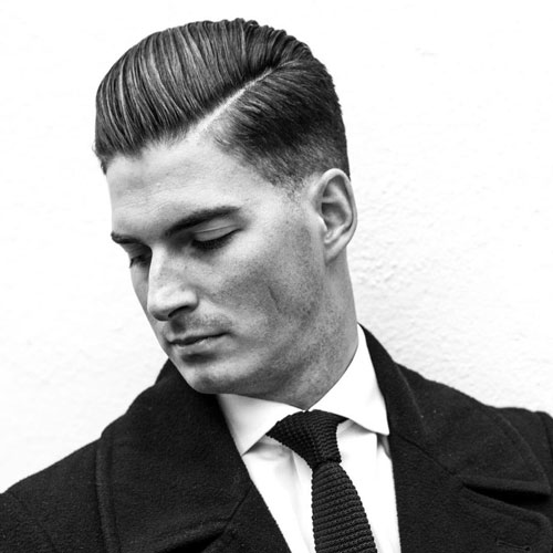 Professional Business Haircuts Low Fade With Comb Over