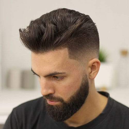 Skin Fade Long Hair on Top