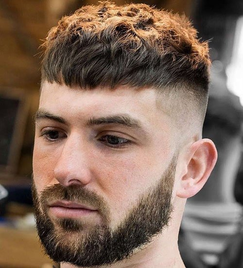 Skin Fade Short Hair Top