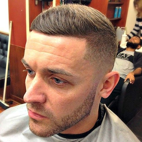 Skin Fade with Short Texturd Top