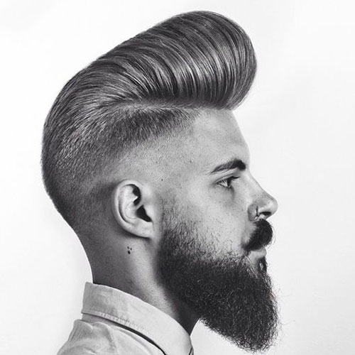 pompadour hairstyle for men men 39 s haircuts hairstyles 2018. Black Bedroom Furniture Sets. Home Design Ideas
