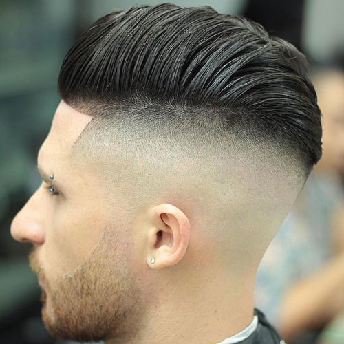 Undercut Pompadour. Pompadour Undercut For Men