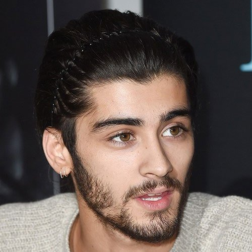 Zayn Malik Hairstyle - Brushed Back