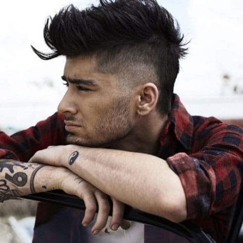 Zayn Malik New Hair - Undercut with Faux Hawk