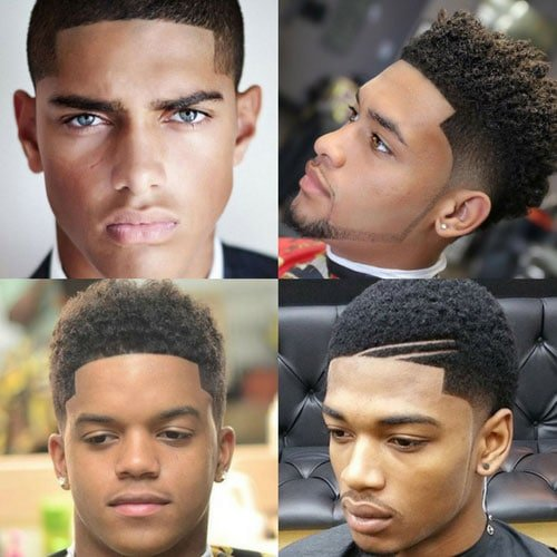 Black Haircuts - Line Up