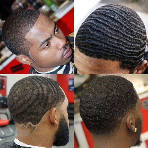 Black Men Haircuts - Waves