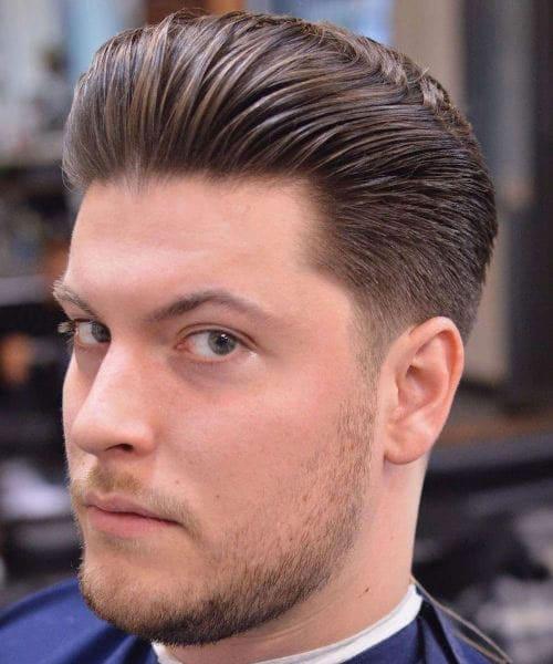 Comb Back Haircut