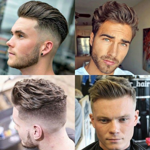 Cool Brushed Up Hairstyles