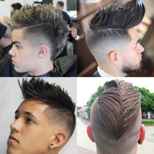 Cool Faux Hawk Hairstyles