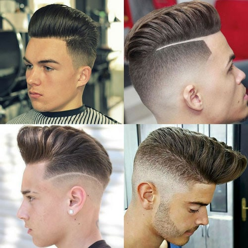 Cool Pompadour Hairstyles