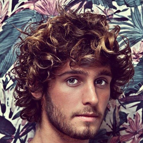Curly Surfer Hairstyles