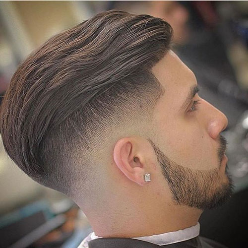 Disconnected Undercut and Shape Up with Textured Slick Back