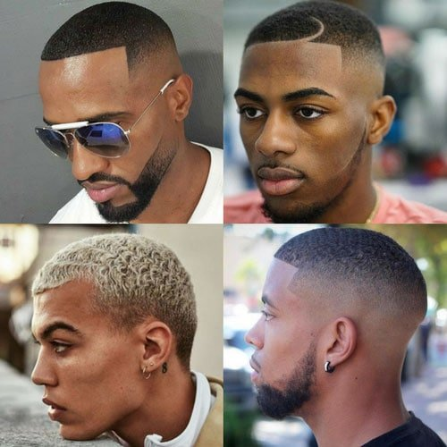 Haircuts For Black Men - Buzz Cut