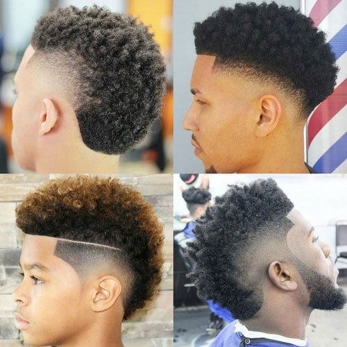 Good Hairstyles For Black Men   Frohawk