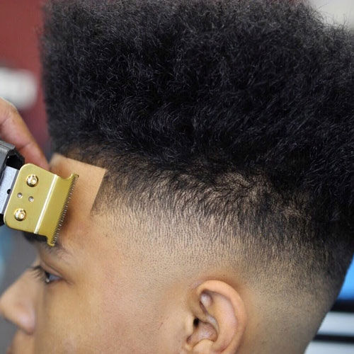 The High Top Fade Men S Haircuts Hairstyles 2017