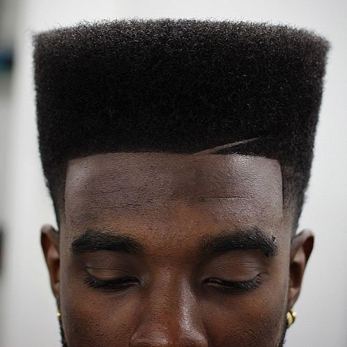High Top Fade For Black Men